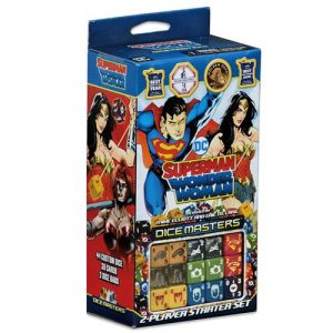 Superman and Wonder Woman Starter Set: DC Comics Dice Masters