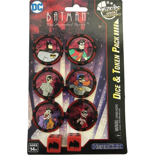 Batman The Animated Series Dice & Token Pack