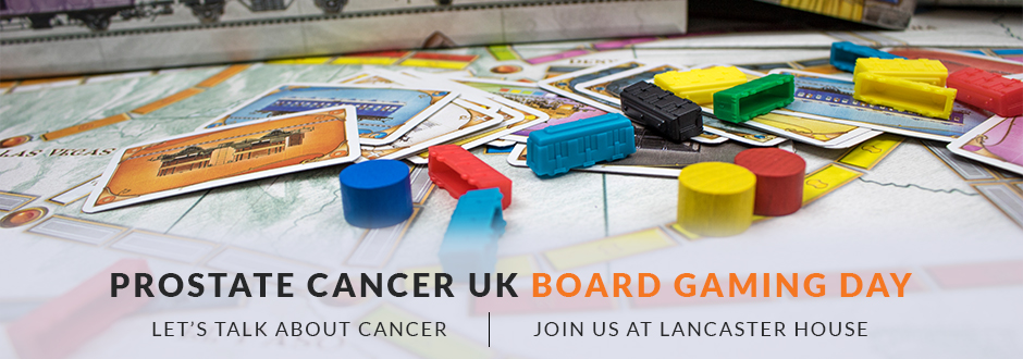 Board Game Day for Prostate Cancer UK