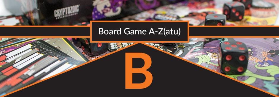 Board Game Terms - B