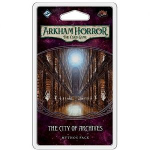 Arkham Horror LCG: The City of Archives Mythos Pack Expansion