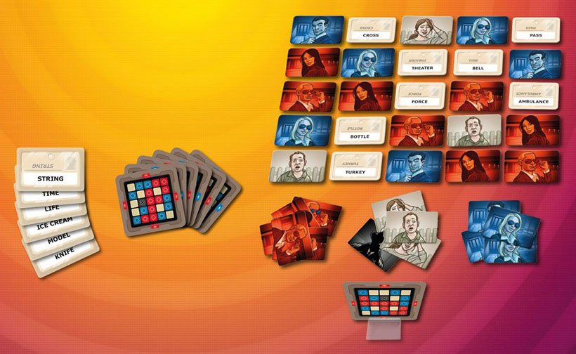 Codenames Game Layout