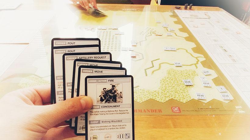 Combat Commander Mediterranean - Action Cards