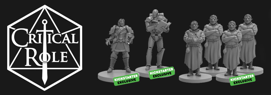 News Round Up: Critical Role Miniatures, Here's Negan and more Clix
