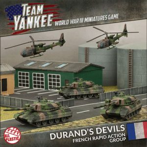 Durand's Devils (Plastic x3 AMX-30, x2 Gazelle)