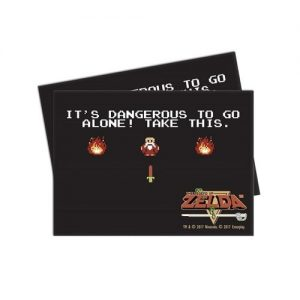 The Legend of Zelda Dangerous Deck Sleeves