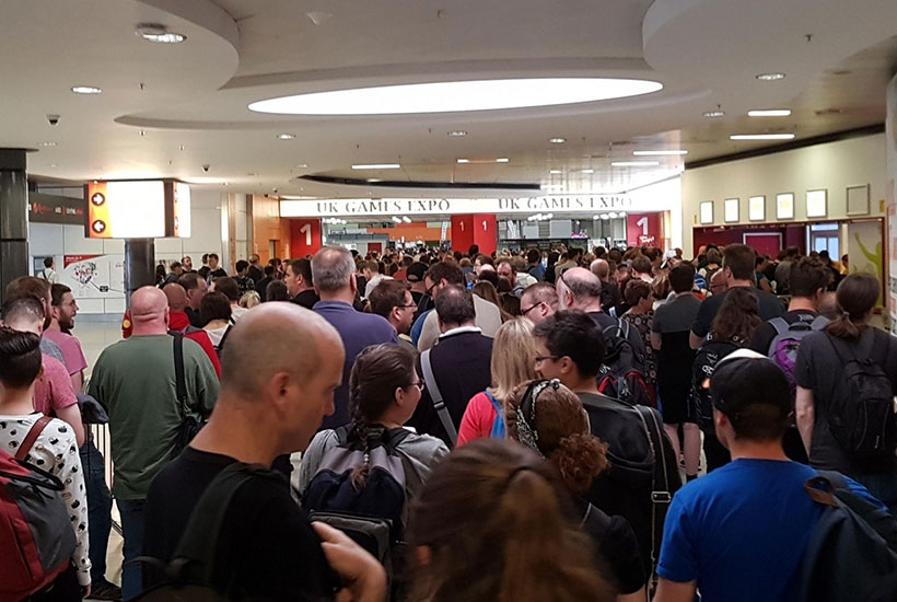 UKGE 2018 - Entering the Expo