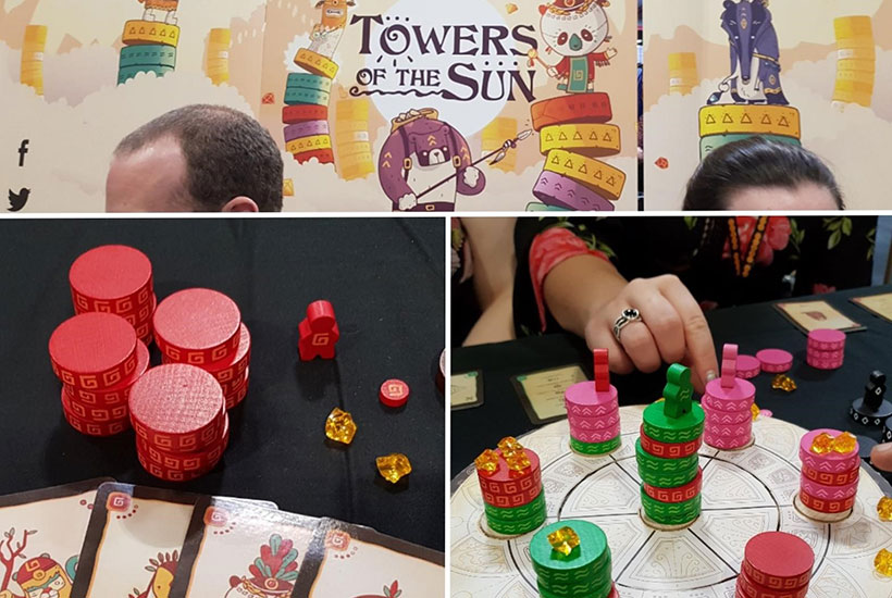 UKGE Retrospective - Towers of the Sun