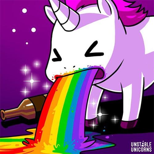 Unstable Unicorns Artwork
