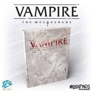 Vampire: The Masquerade 5th Ed Deluxe Rulebook