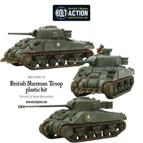 Sherman V Tank Troop (2 Sherman V's 1 Firefly)