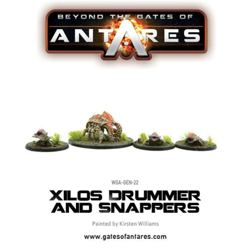 Xilos Snapper and Drummer