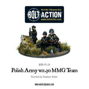 Polish Army wz.30 MMG team