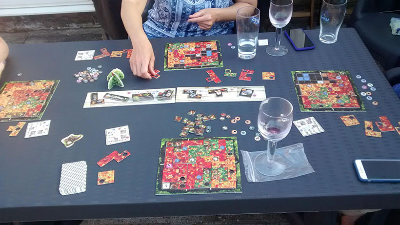 Four-Player Indian Summer Game