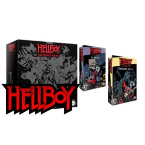Hellboy The Board Game: Box Full of Evil - Kickstarter Edition