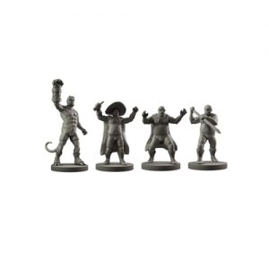 Hellboy The Board Game: Resin Hellboy in Mexico Miniatures