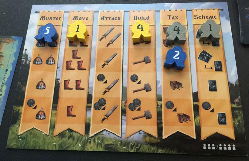 PieceKeeper Games - Rurik Strategy Board