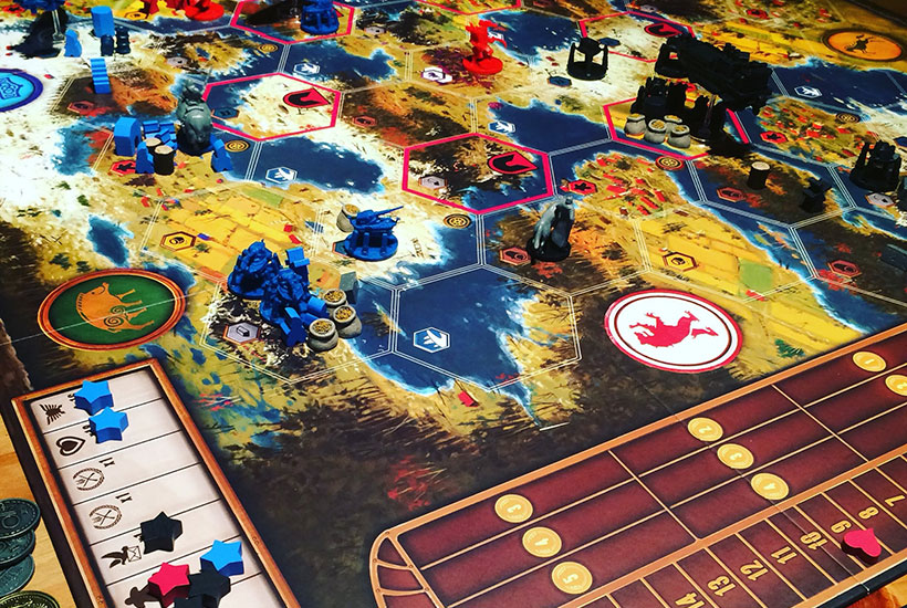 Playing Scythe The Wind Gambit