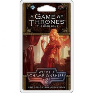 2016 World Championship Joust: A Game of Thrones LCG 2nd Ed