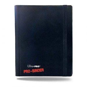 4 Pocket Pro Binder Black