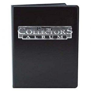 A5 4-Pocket Black Collectors Portfolio