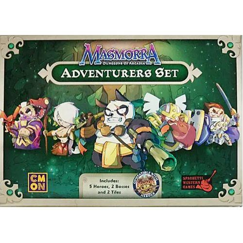 Adventurers Set: Masmorra Dungeons Of Arcadia