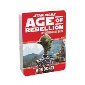 Star Wars: Age of Rebellion RPG - Advocate Specialization Deck