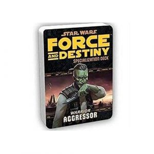 Star Wars: Force and Destiny RPG - Aggressor Specialization Deck