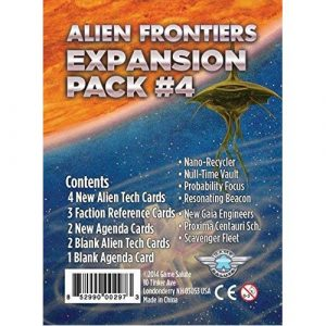 Alien Frontiers Expansion Pack #4