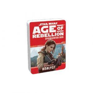 Star Wars: Age of Rebellion RPG - Analyst Specialization Deck