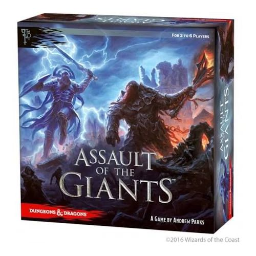 Assault of the Giants (Std Edition): Dungeons and Dragons Boardgame