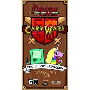 BMO vs Lady Rainicorn: Adventure Time Card Wars