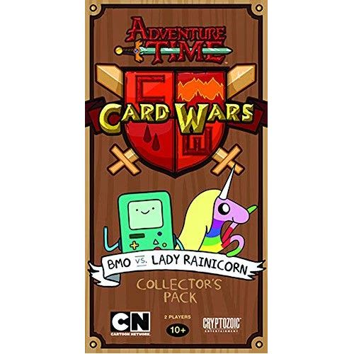 BMO vs Lady Rainicorn: Adventure Time Card Wars