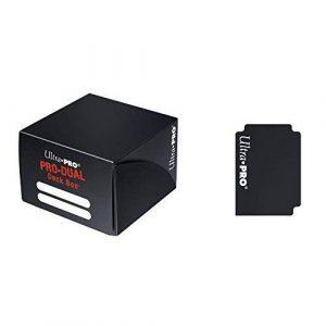 Black Pro Dual Deck Box (180 Cards)
