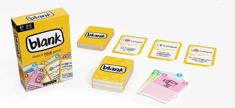 Blank Review - Box Contents