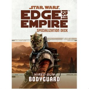 Star Wars: Edge of the Empire RPG - Bodyguard Specialization Deck