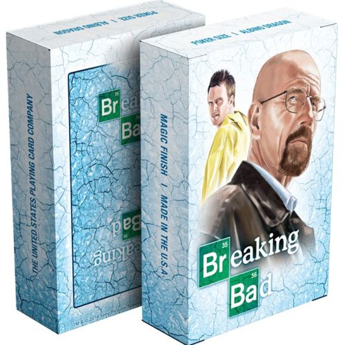 Breaking Bad - Blue Ice playing cards
