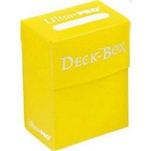 Bright Yellow Deck Box