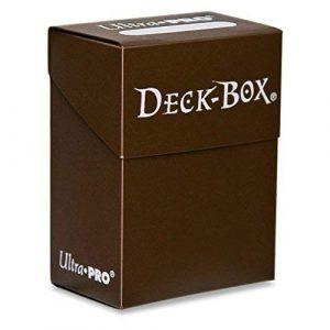 Brown Deck Box Single