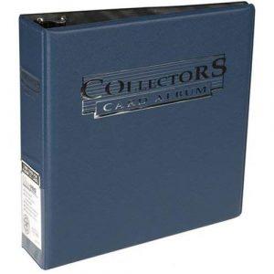 Collector Card Album: Blue