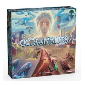 Comanauts: An Adventure Book Game