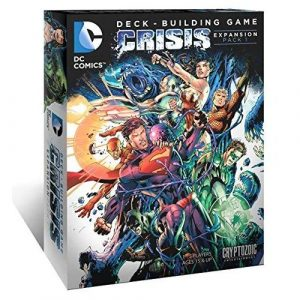 Crisis Expansion: DC Deck Building Game