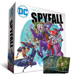 DC Comics Spyfall with Swamp Promo