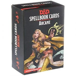 Dungeons & Dragons: Arcane Spell Deck (253 Cards)