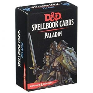 Dungeons & Dragons: Paladin Spellbook Cards (69 Cards)