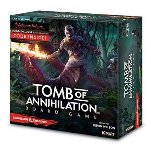 Dungeons & Dragons: Tomb of Annihilation Standard Edition Boardgame 2017