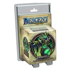 Descent 2nd Ed: Zarihell Lieutenant Pack