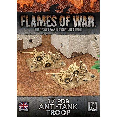 Desert Rats 17pdr Anti-Tank Troop (Plastic