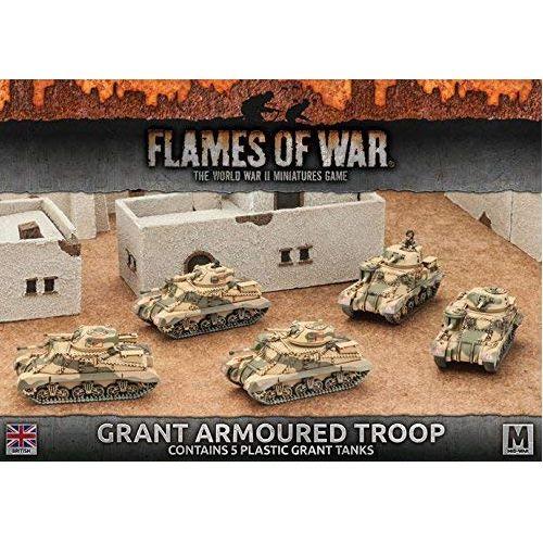 Desert Rats Grant Armoured Troop (Plastic