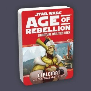 Star Wars: Age of Rebellion RPG - Diplomat Signature Specialization Deck